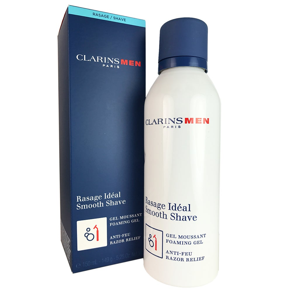Clarins Smooth Shave Men's 5.25-ounce Foaming Gel, Green ...
