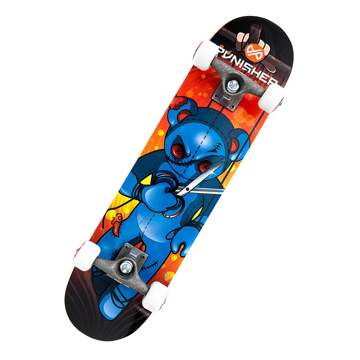 Punisher Skateboards Puppet 31.5-inch Complete Skateboard...