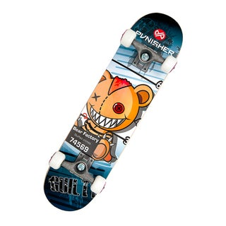 Punisher Skateboards Guilty 31.5-inch Complete Skateboard
