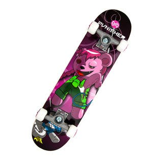 Punisher Skateboards Vendetta 31.5-inch Complete Skateboard|https://ak1.ostkcdn.com/images/products/7356830/7356830/Punisher-Skateboards-Vendetta-31-inch-Complete-Skateboard-P14819253.jpg?impolicy=medium