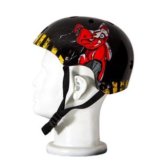 Punisher Skateboards Teddy 11-vent Medium Skateboard Helmet