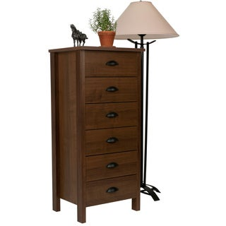 Venture Horizon Walnut 6-drawer Dresser