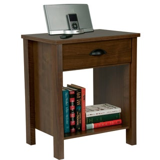 Venture Horizon Walnut Finish Nouvelle Nightstand