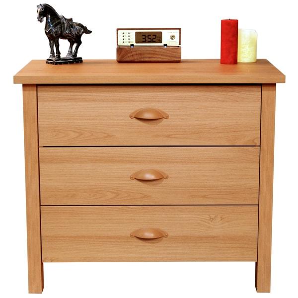 Venture horizon oak finish nouvelle drawer chest free