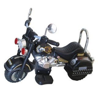 Harley Style Black 6-0Volt Ride-on Motorcycle