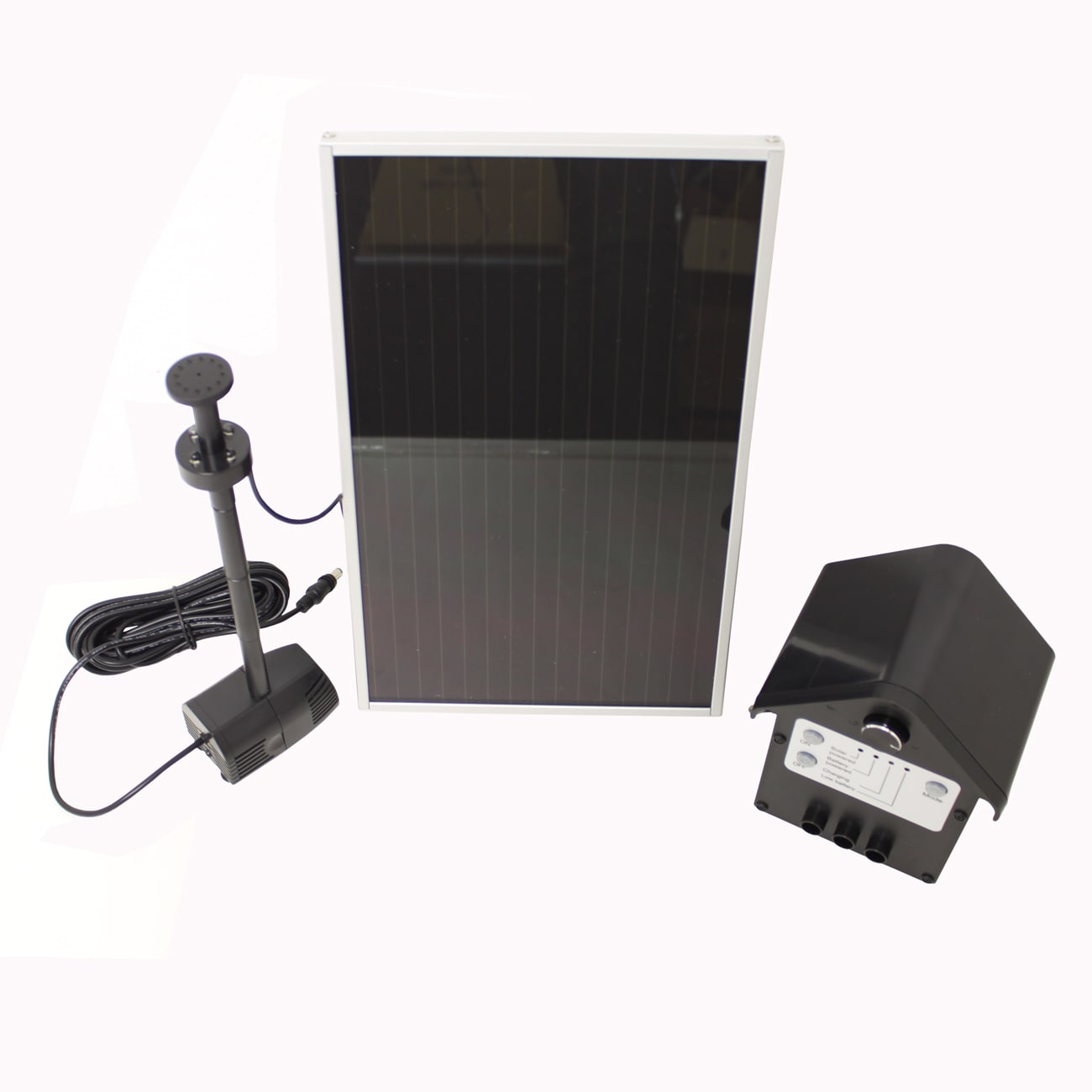 3-watt Solar Powered Water Pump Kit (3 w solar panel with...