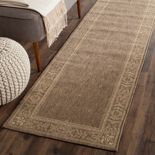 Safavieh Summer Brown/ Natural Indoor/ Outdoor Rug