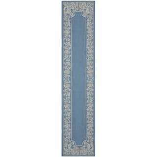 Safavieh Rooster Blue/ Natural Indoor/ Outdoor Rug (More options available)