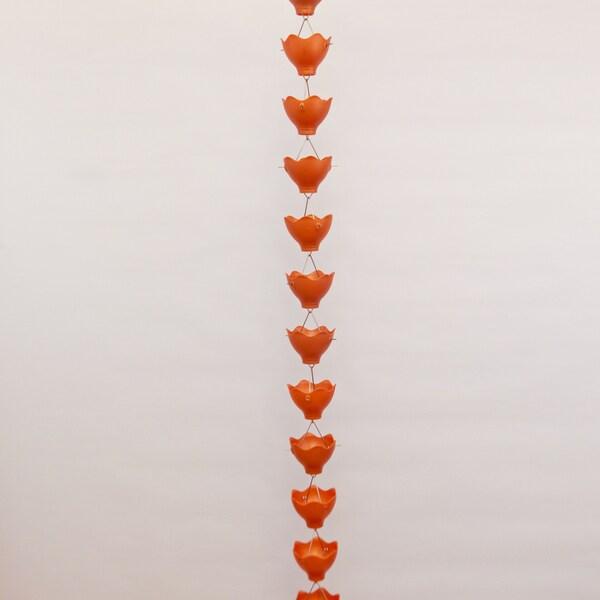Basic Lilly Coppertone Rain Chain