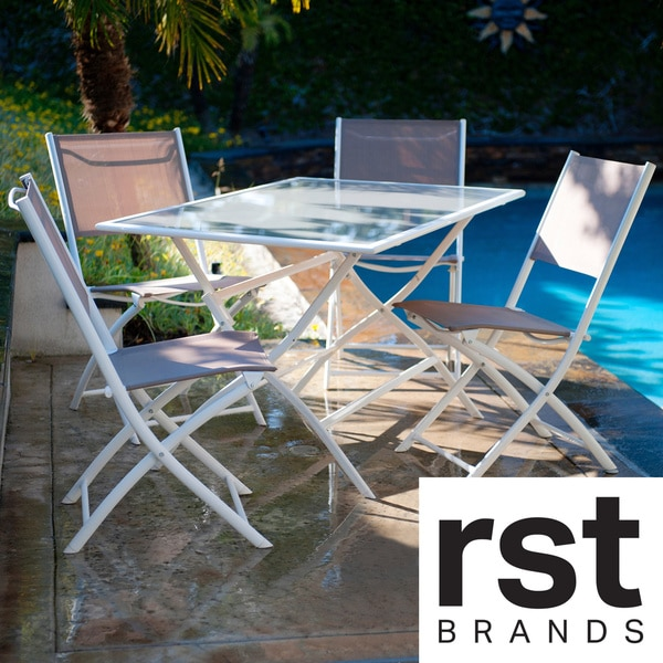 Red Star Traders 'Miami' 5-piece Outdoor Dining Set