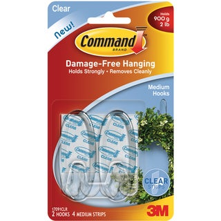 Command Medium Clear Hooks