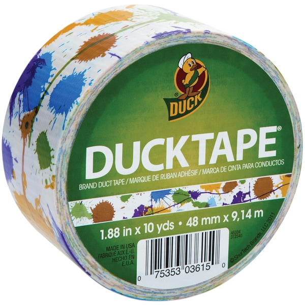 Paint Splatter Duck Tape 30-foot