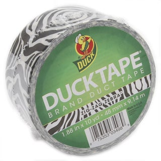 Zebra Duck Tape 30-foot