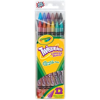 Crayola Twistables Colored Pencils (Pack of 12)