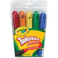 Crayola Twistables Slick Stix (Pack of 5)