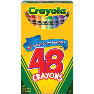 Crayola Crayons (Pack of 48)