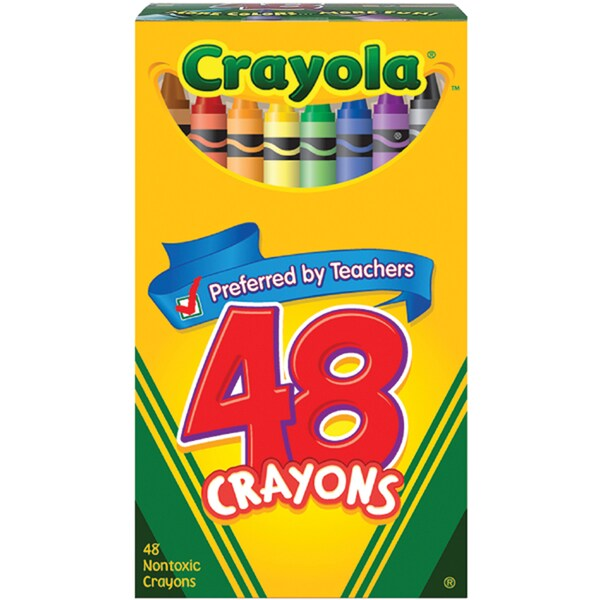 Crayola Crayons (Pack of 48)