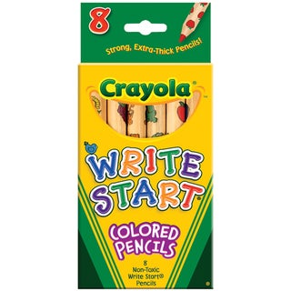 Crayola Write Start Colored Pencils (Pack of 8)