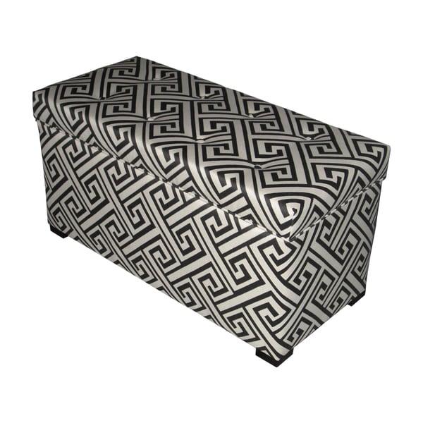 Sole Designs Domino Button Tufted Trunk