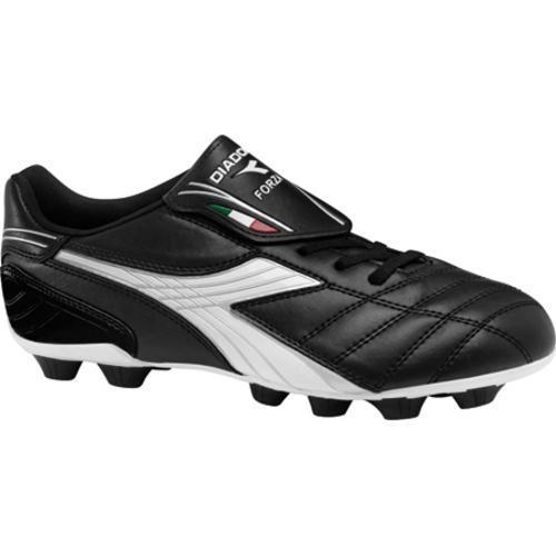 Men's Diadora Forza MD Black/White/Silver