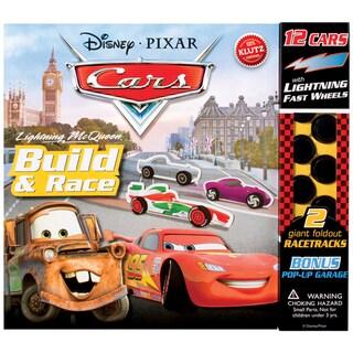 Shop Disney Pixar Cars Lightning Mcqueen Build Amp Race Book