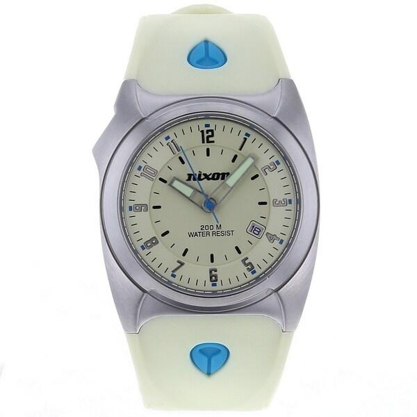 Nixon Women's 'Key' Beige Plastic Watch