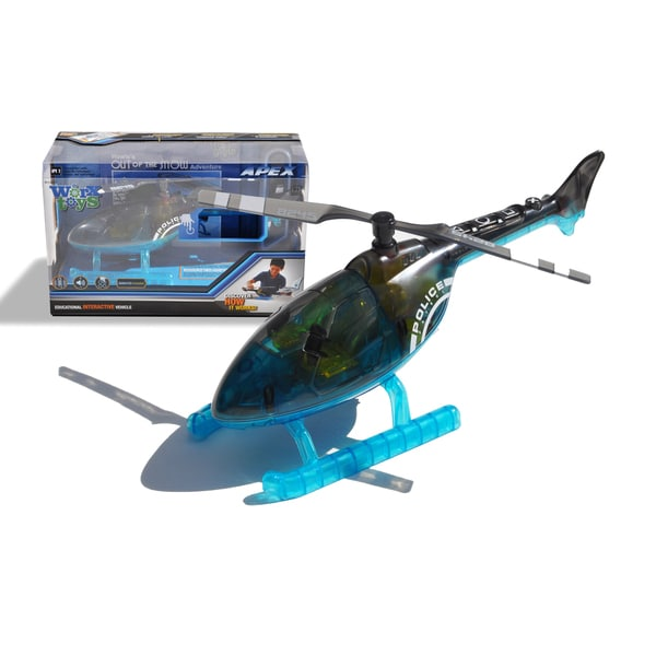 Worx Toys Apex Police Helicopter