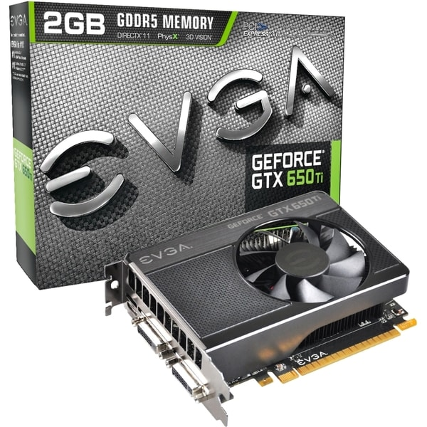 EVGA GeForce GTX 650 Ti Graphic Card - 928 MHz Core - 2 GB GDDR5 - PC
