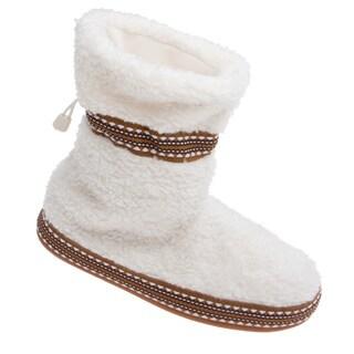 Woolrich Women's Whitecap Bootie Slippers