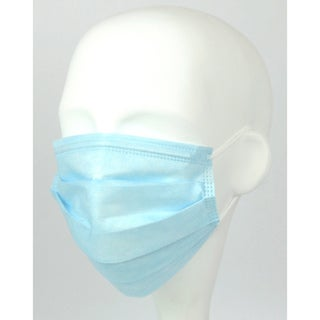 CLK Medical Supply Extra-D Blue Procedure Face Masks (Case of 500)