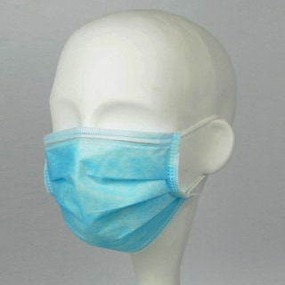 CLK Superior-X200 Earloop Blue Procedure Masks (Case of 500)