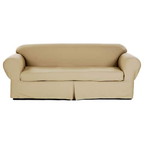 Buy Brown Sofa & Couch Slipcovers Online at Overstock | Our Best ...