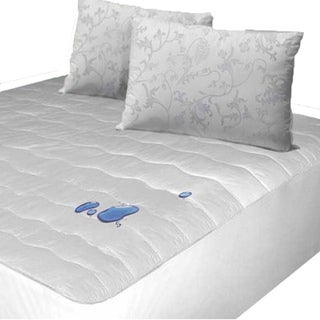 Luxury Waterproof Quilted Mattress Protector With Coolmax