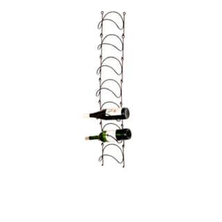 Phillipe Wall-mounted Metal Wine Rack