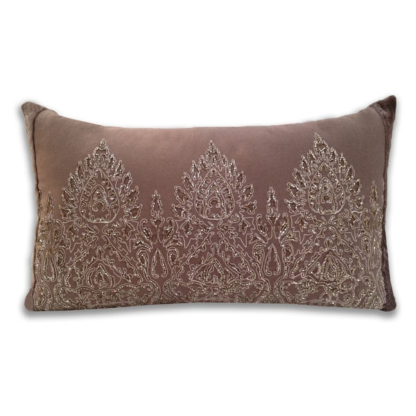 Marlo Lorenz Ivonne Embroidered Decorative Pillow