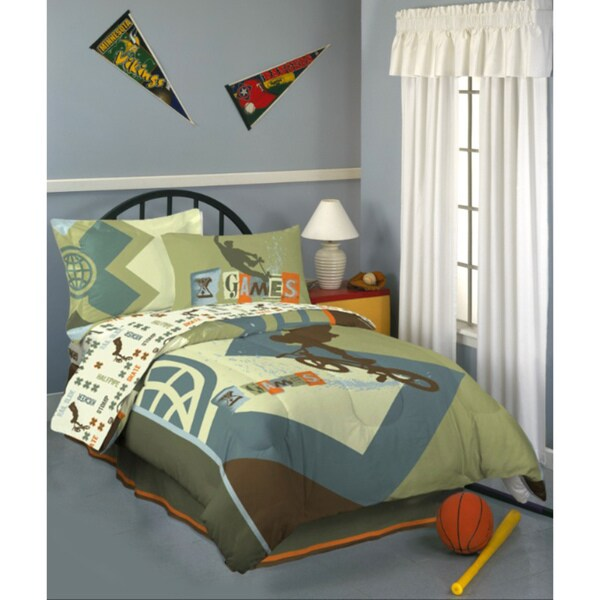 X Games Graphix Full Size Bed In A Bag With Sheet Set