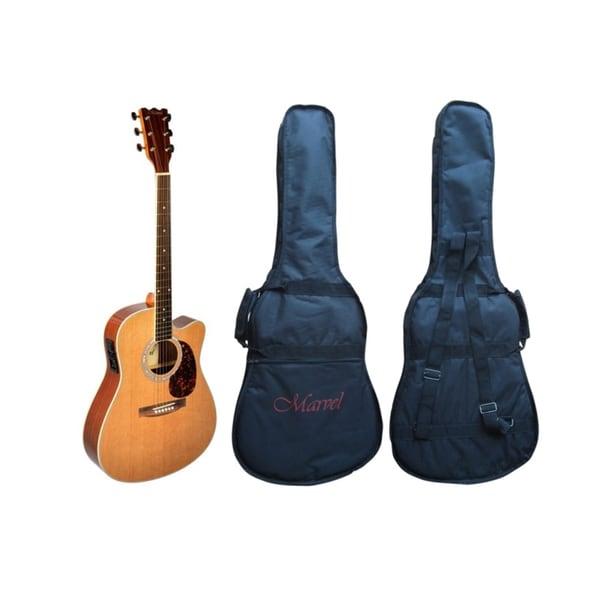 Thin Body Design Acoustic/Electric Cut-away Guitar