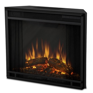 Real Flame 23.6 in. W x 19.9 in. H x 8.6 in. D Electric Firebox Fireplace