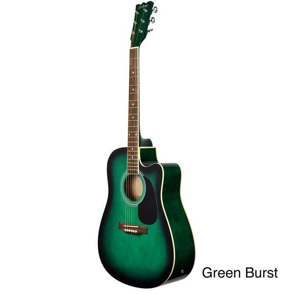 Kashmir Acoustic-Electric Cut-Away Guitar