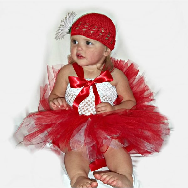 Holiday Christmas Tutu Dress Set