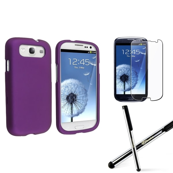 BasAcc Case/ Stylus/ Screen protector for Samsung Galaxy S III/ S3