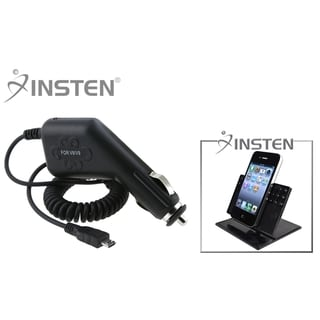 INSTEN Car Charger/ Insten Phone Holder for HTC Inspire 4G