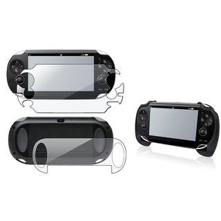 INSTEN Full Body LCD Protector/ Hand Grip for Sony Playstation Vita