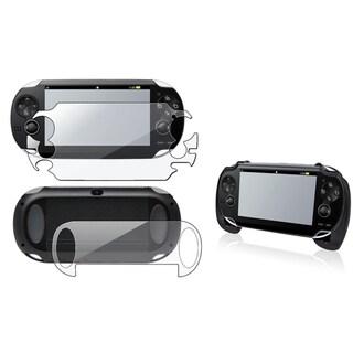 INSTEN Full Body LCD Protector/ Hand Grip for Sony Playstation Vita