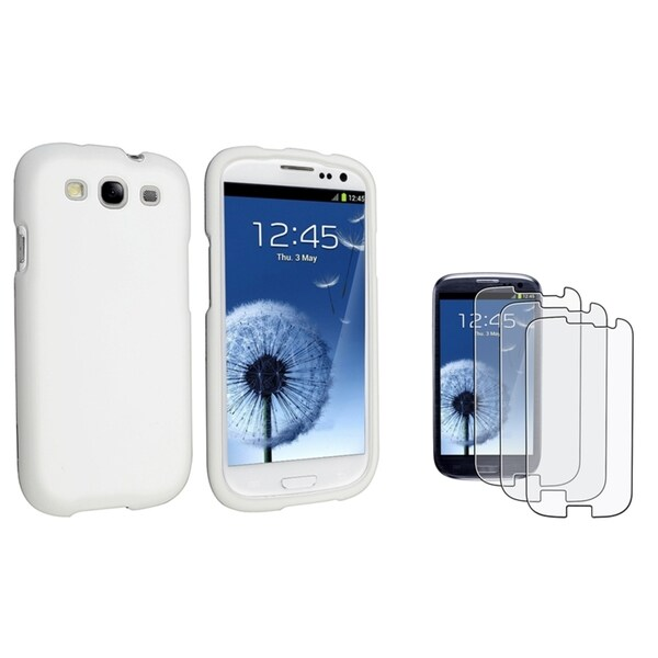 INSTEN Protector Phone Case Cover/ Screen Protector for Samsung Galaxy S3/ S III