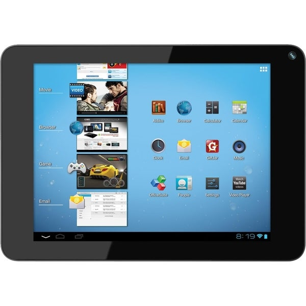 "Coby Kyros MID8048 4 GB Tablet - 8"" 4:3 Multi-touch Screen - 800 x 60"