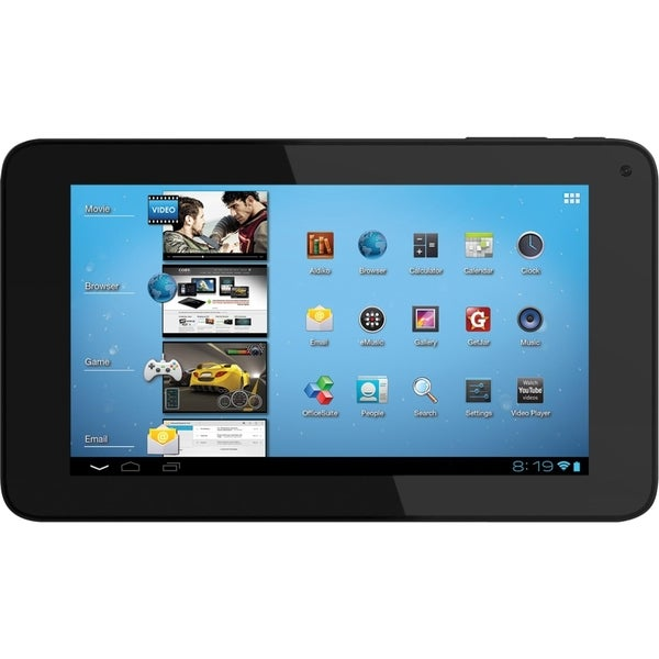 """Coby Kyros MID7048 4 GB Tablet - 7"""" 16:9 - 800 x 480 - Telechips Cort"""