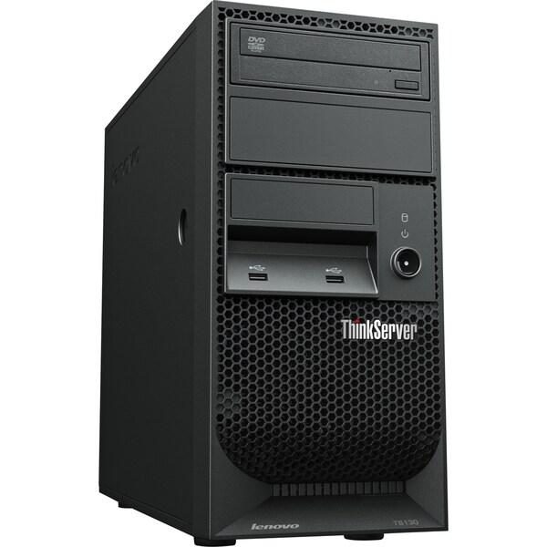 Lenovo ThinkServer TS130 110571U Tower Server - 1 x Intel Xeon E3-124