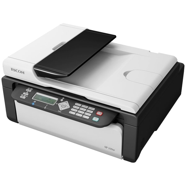 Ricoh Aficio SP 100SF e Laser Multifunction Printer - Monochrome - Pl