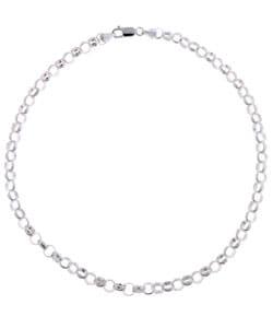 Shop Mondevio Sterling Silver 16 Or 20 Inch 6 5 Mm Rolo